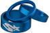 Spank Headset Spacer Kit - kit en 3 parties bleu